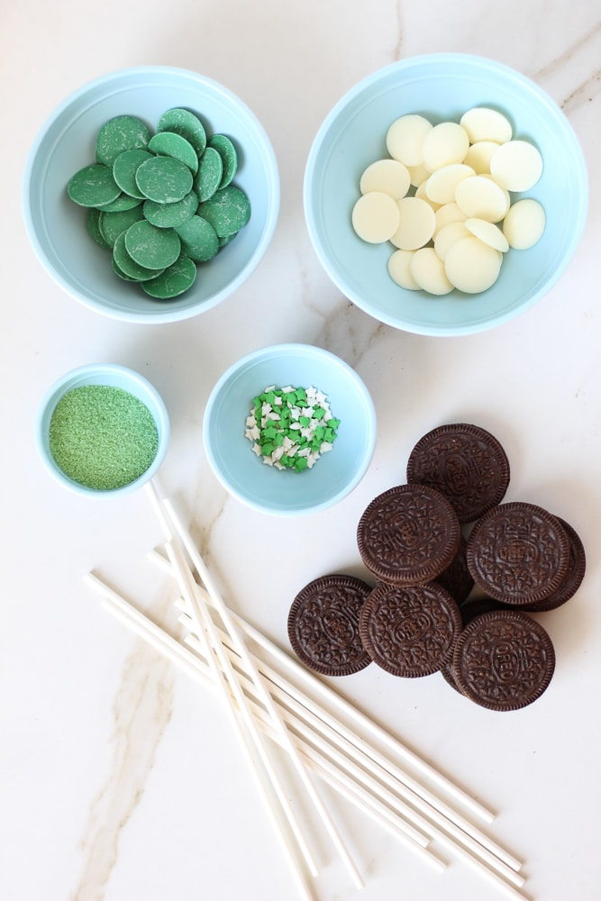 St. Patrick's Day Green Oreo Pops