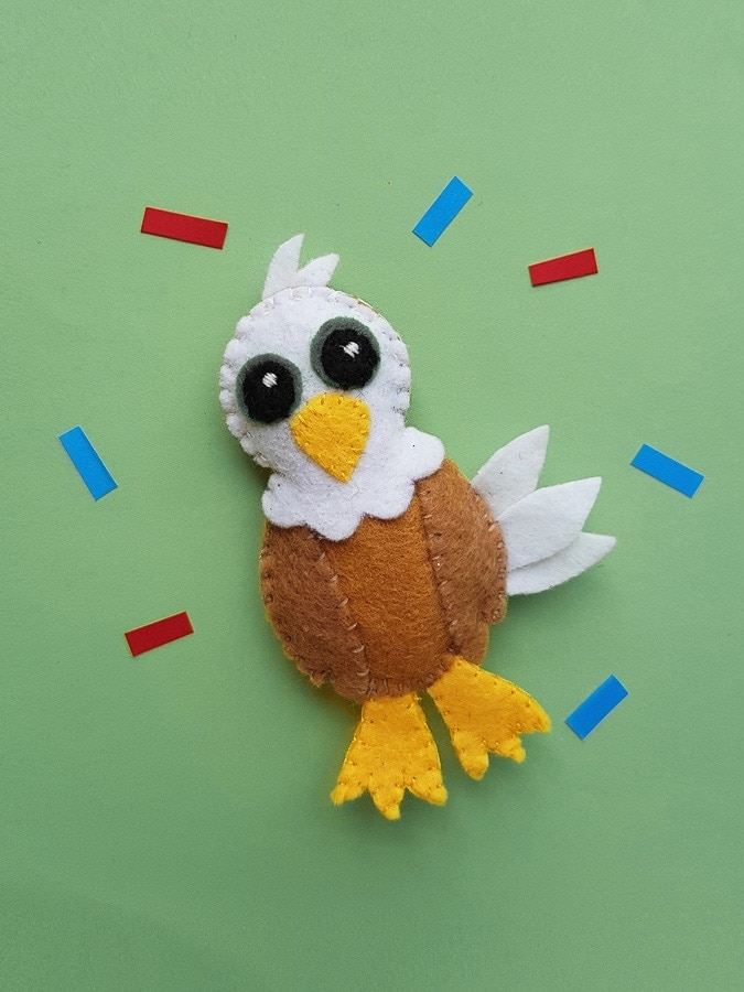 Bald Eagle Craft with Free Printable Template