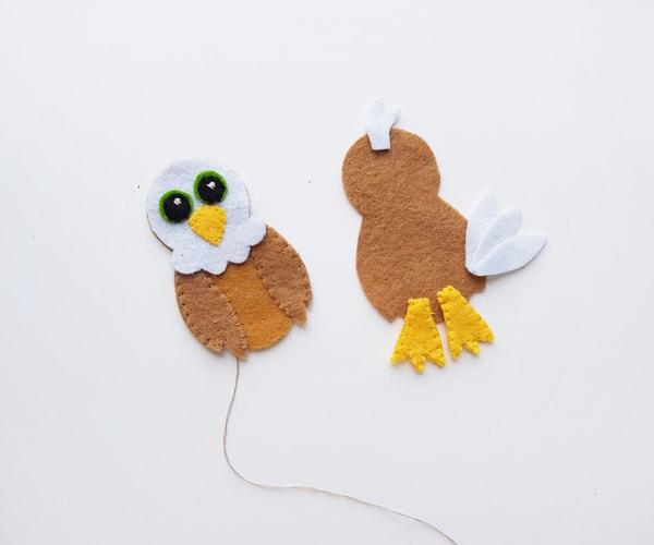 bald eagle craft template