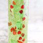 Christmas glitter sensory bottle