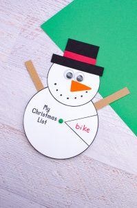 This image has an empty alt attribute; its file name is Christmas-wishlist-template-snowman-199x300.jpg