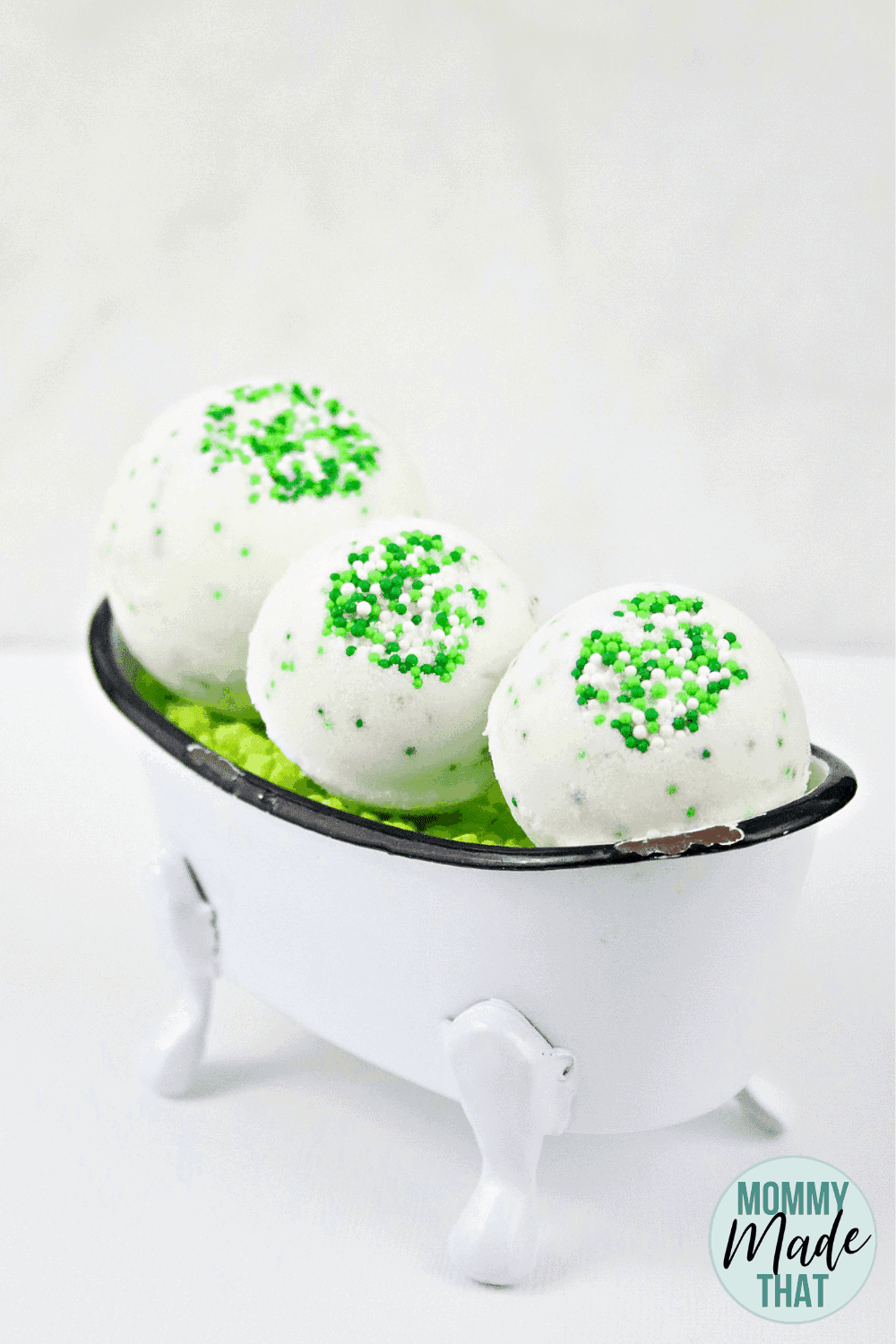 St patricks day bath bombs