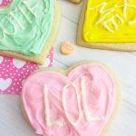 DIY conversation heart cookie recipe
