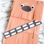 Cute wookie paper bag puppet craft