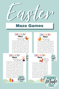 Free Printable Easter Activities for kids! Print the fun little maze game. Help the Easter bunny find her way home.