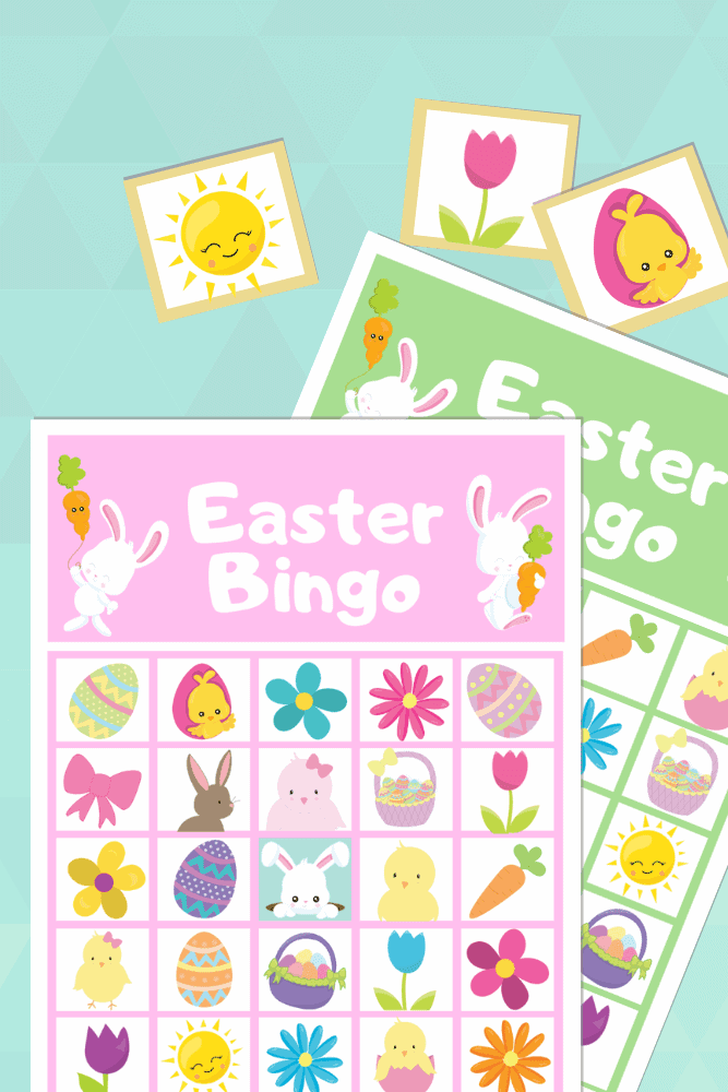 Easter Bingo Cards