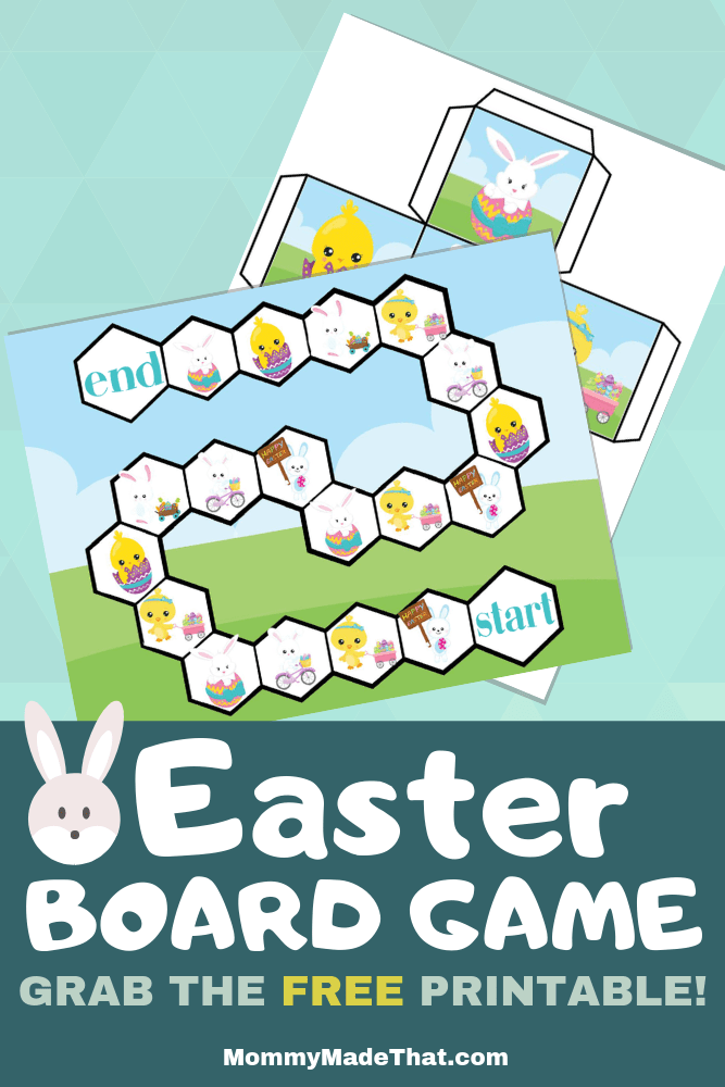 Easter board game printable