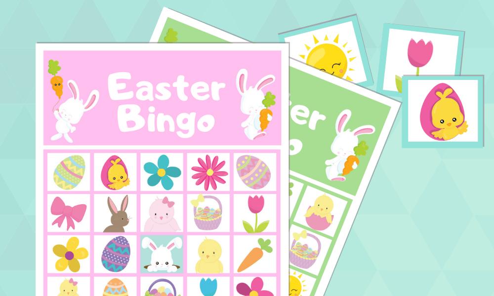 Easter bunny bingo!
