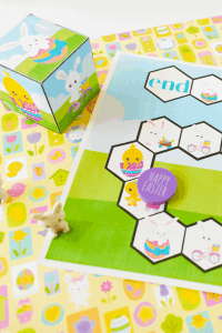 Easter free printable board game.