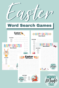 Easter word search activity.