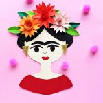 frida kahlo craft for kids