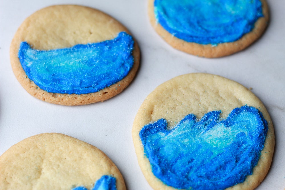 Ice wall cookies from game of thrones