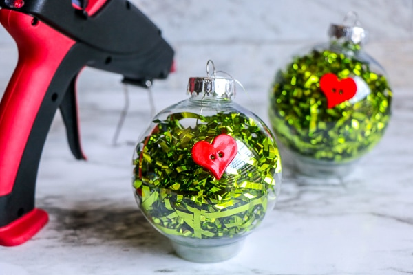 how to make grinch ornaments