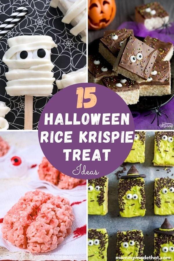 halloween rice krispie treat ideas