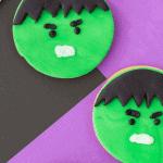 hulk cookies diy