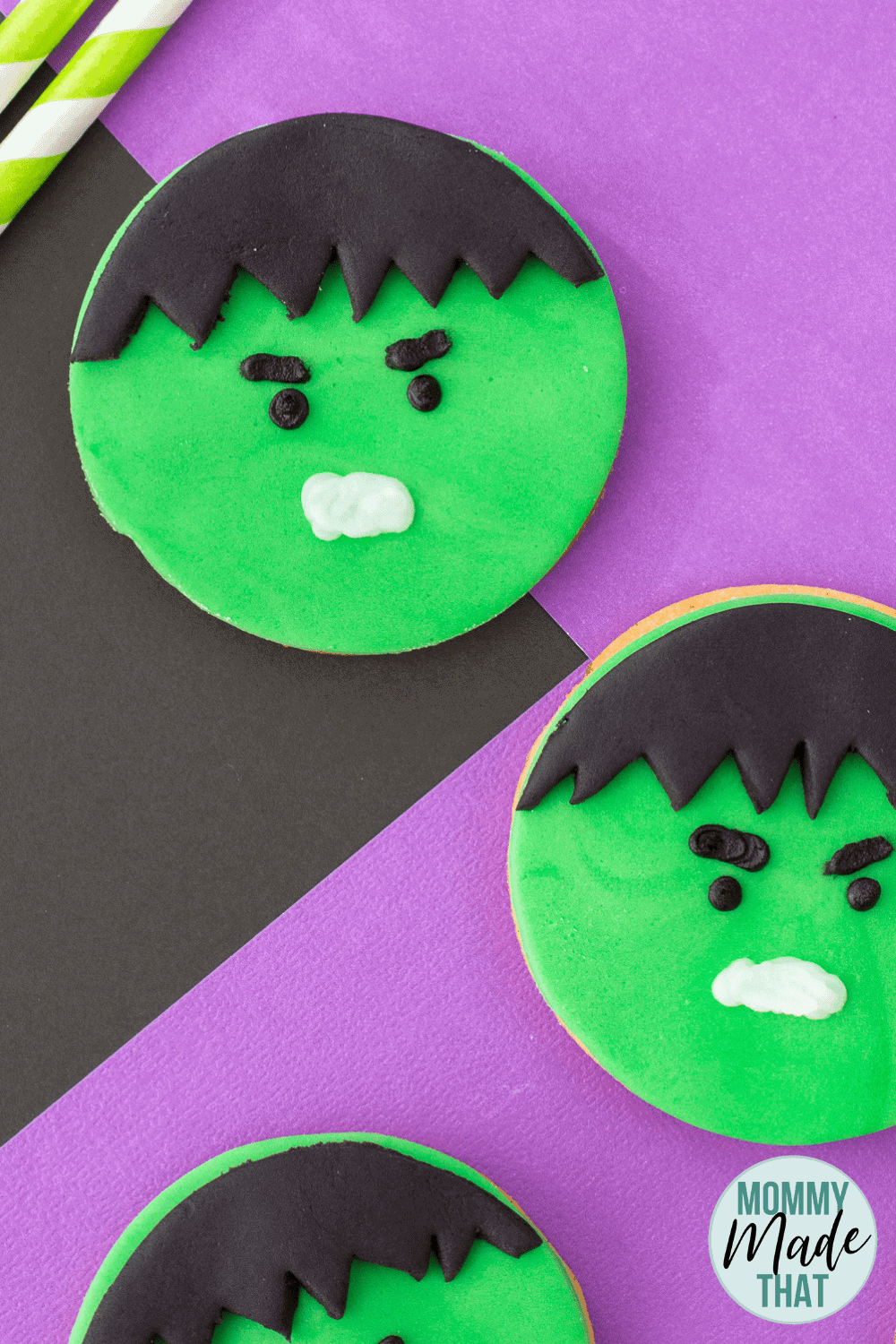 Hulk Cookies a Delicious Avenger Treat