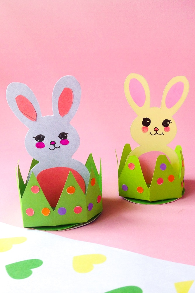 Cute Easter bunny craft