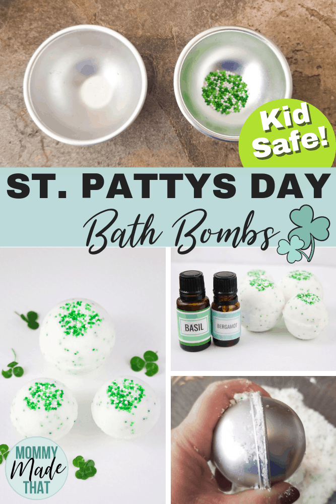 DIY bath bombs.