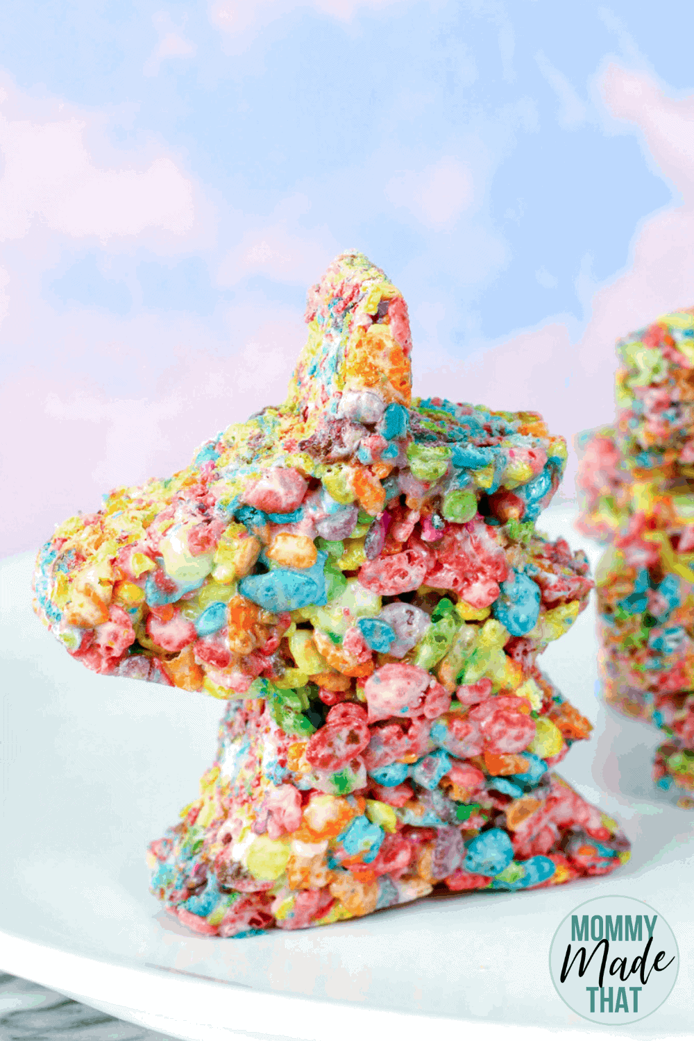 Unicorn Rice Crispy Treats