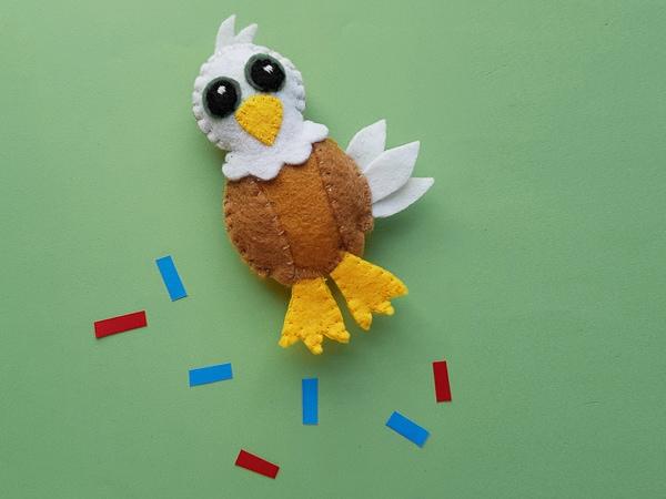 felt bald eagle craft for 4th of July
