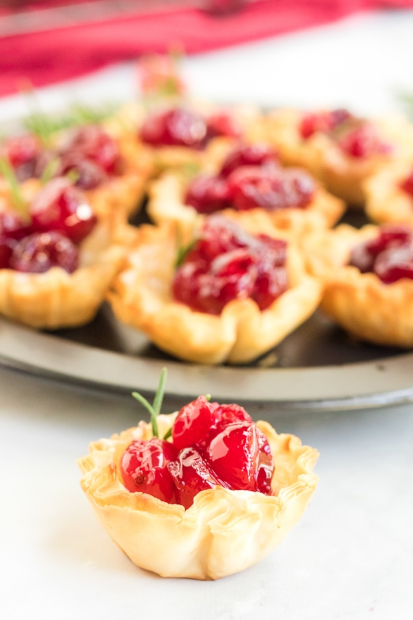 brie cranberry puff pastry