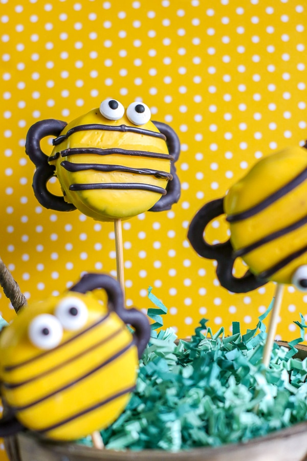 bumble bee cookies