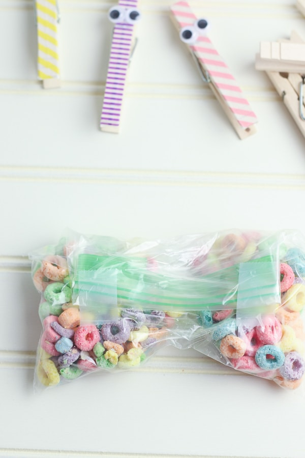 butterfly cereal snack bags