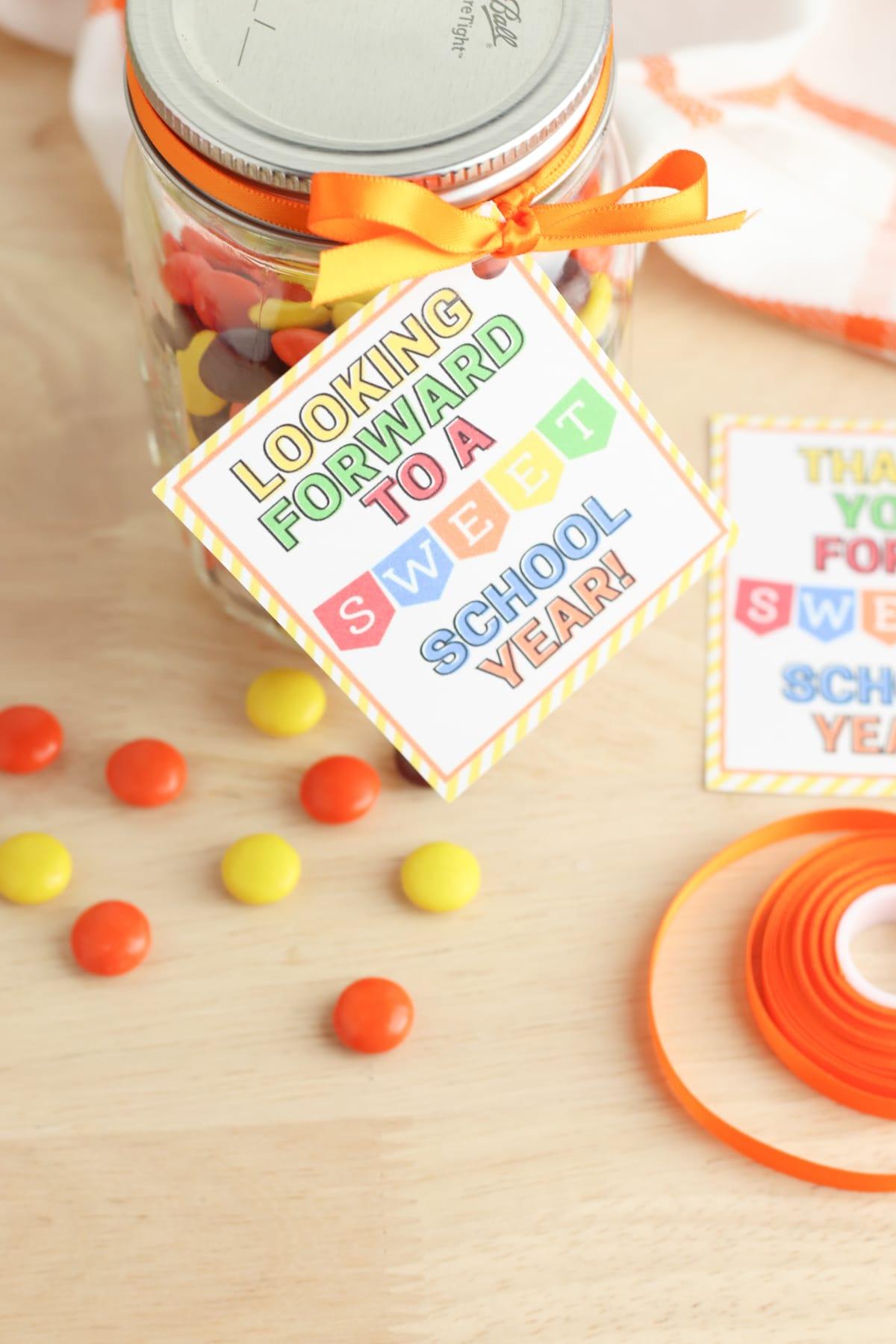Candy jar for teachers