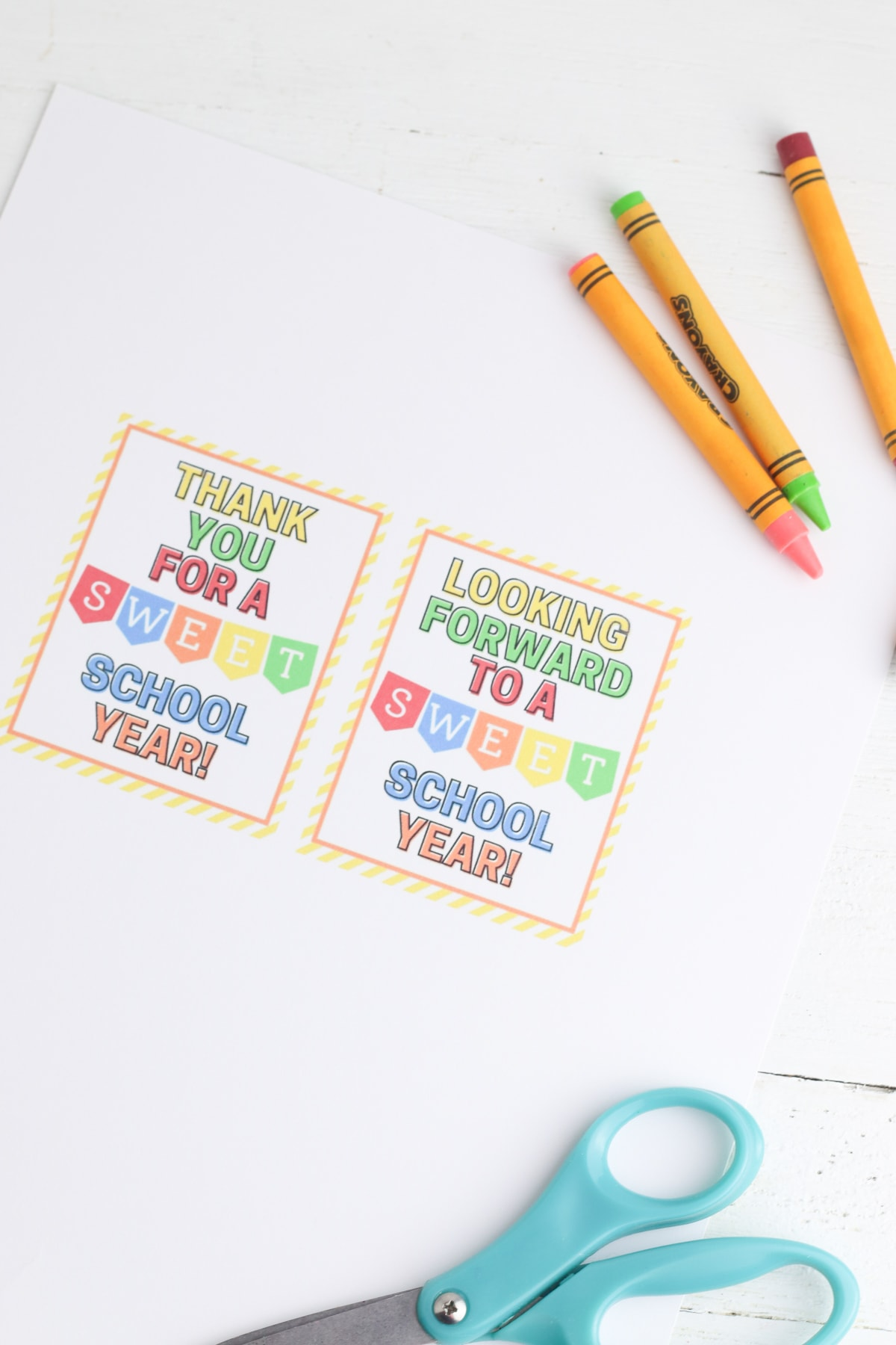 candy jar for teachers free printable gift tag