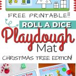 Christmas Playdough mats
