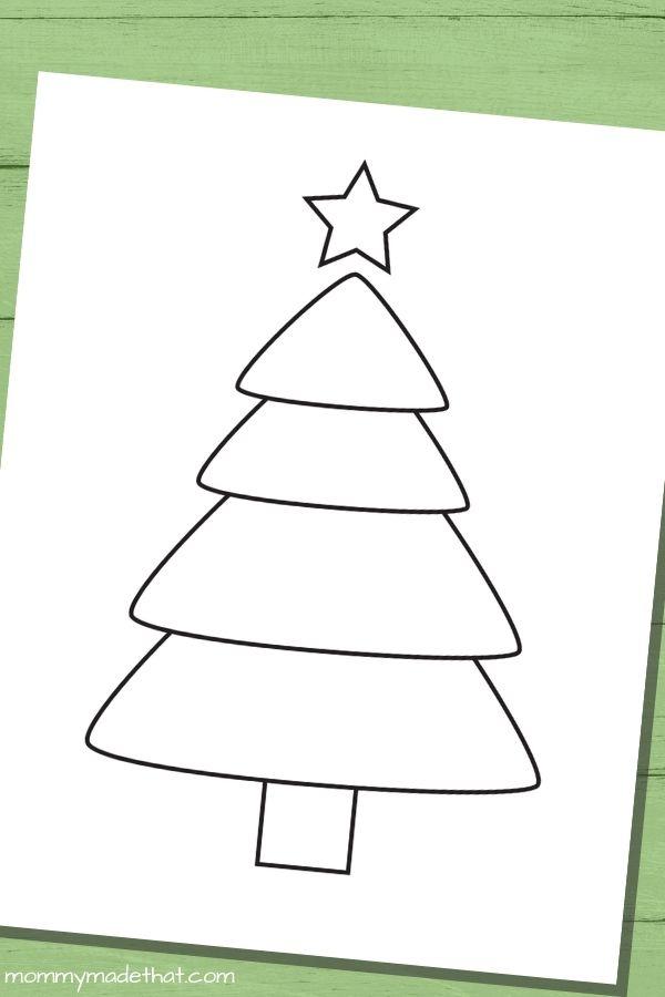 Christmas tree templates