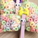 DIY butterfly clothes pin craft snack bag