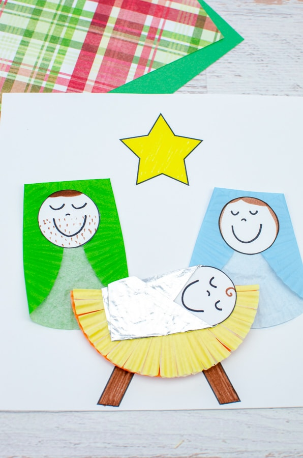 cute manger craft for kids