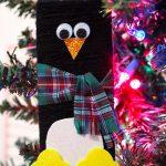 diy penguin ornament