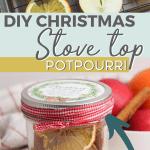 DIY stovetop potpourri for Chirstmas gift