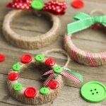 DIY wreath ornament mason jar lid
