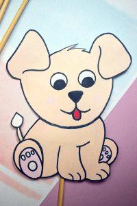 dog puppet craft