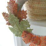 DIY dollar store fall wreath