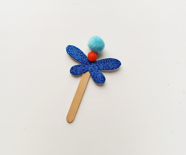 dragon fly craft for preschoolers