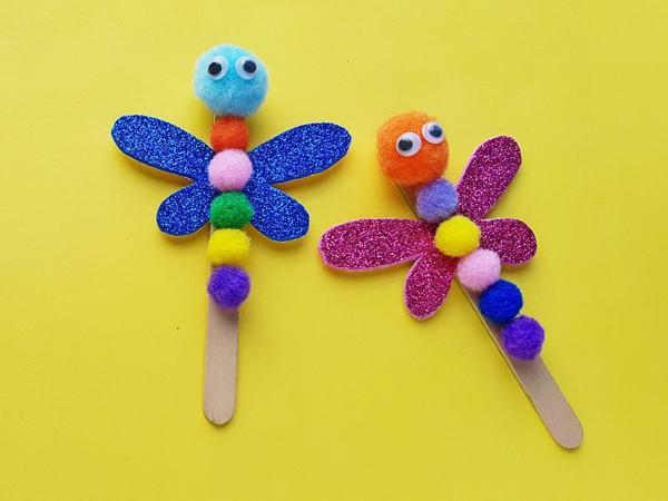 dragonfly craft for preschool kids