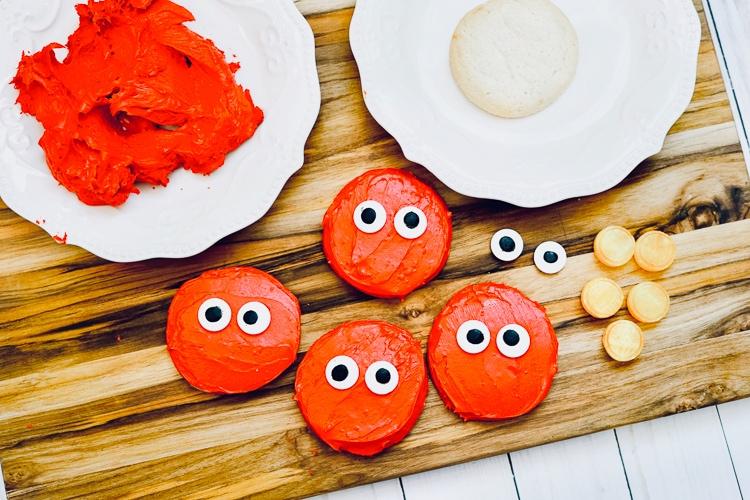 Elmo cookies sesame street