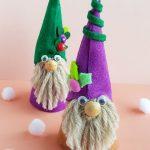 Easy DIY Felt Gnome Doll