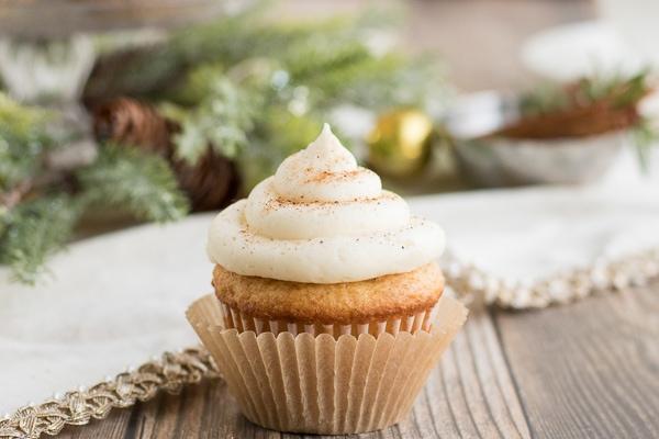 Eggnog cupcake recipes