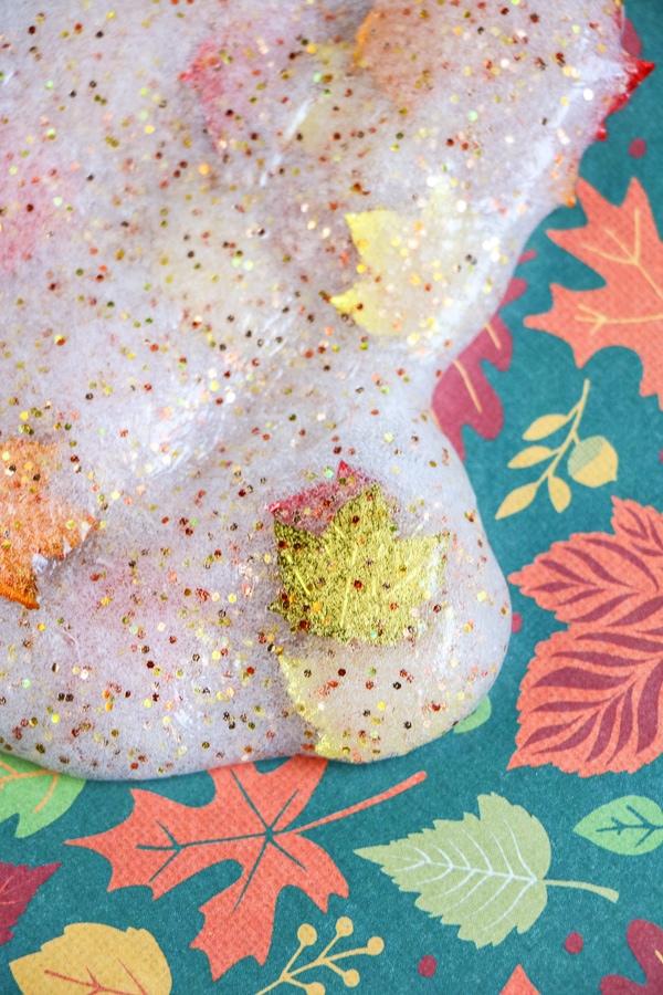 fall slime recipe