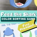 Feed the shark game with printable