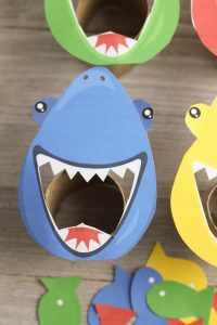 Feed the shark game for toddlers