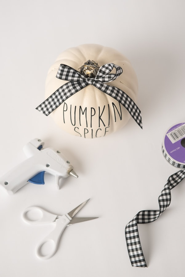 fake pumpkin words craft