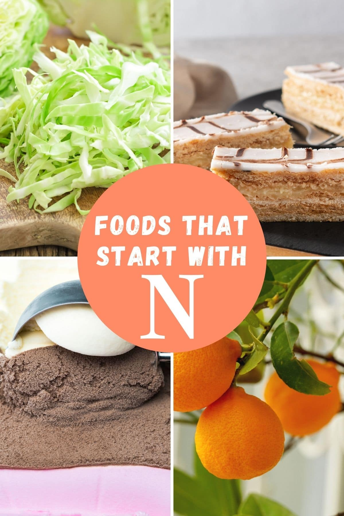 Foods that begin with N