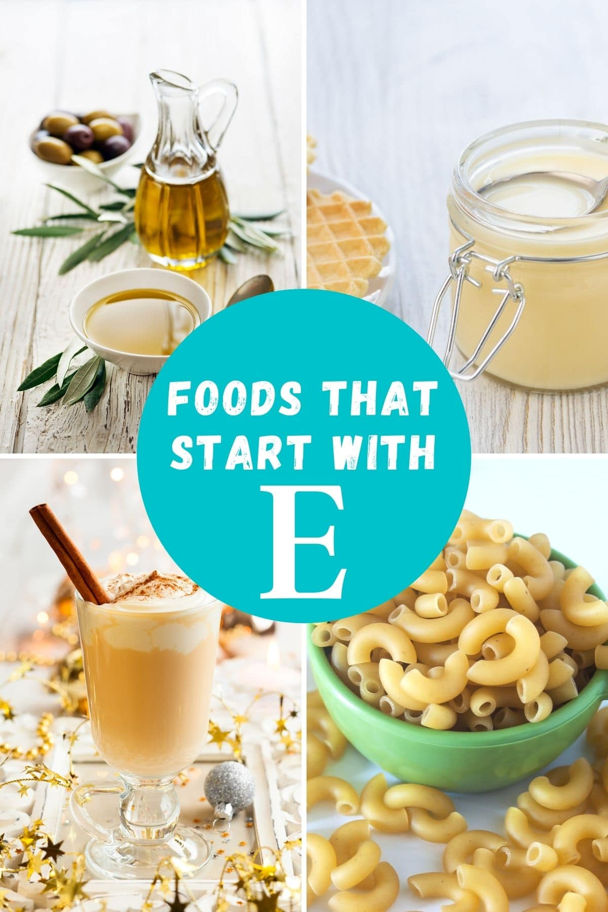 Food that starts with E