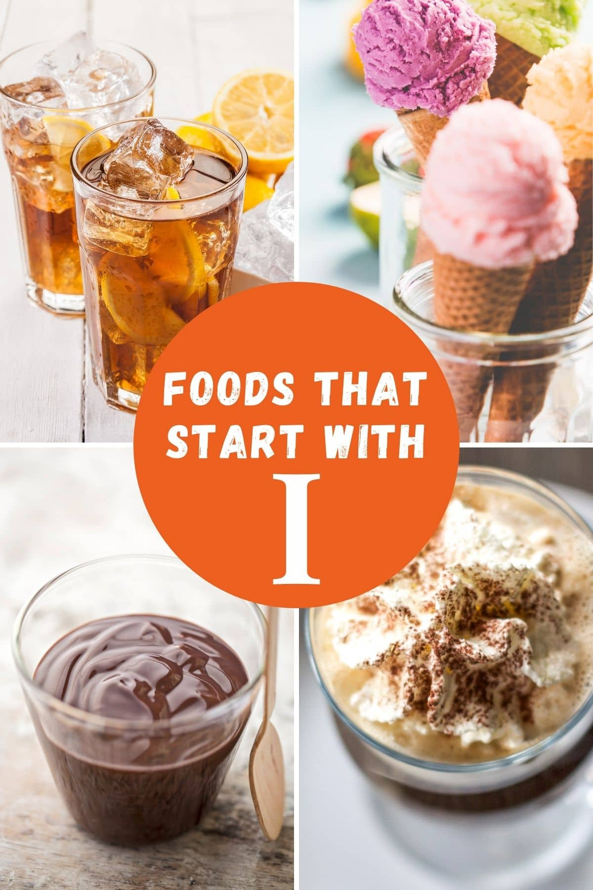 Foods that begin with I